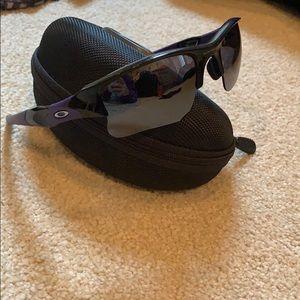 Flak jacket Oakley/MLBP 2012 black sunglasses